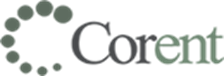 Corent Brand Logo of An On Demand Advisors Customer