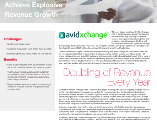 AvidXchange Success Story – A Case Study