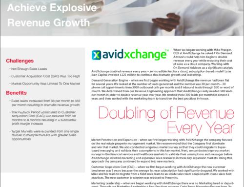 AvidXchange Success Story – A Case Study
